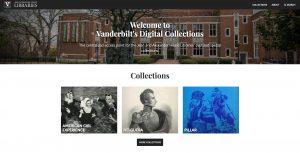 Digital Collections site screenshot